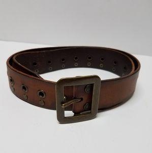 Levi's- Genuine Leather Grommet Belt